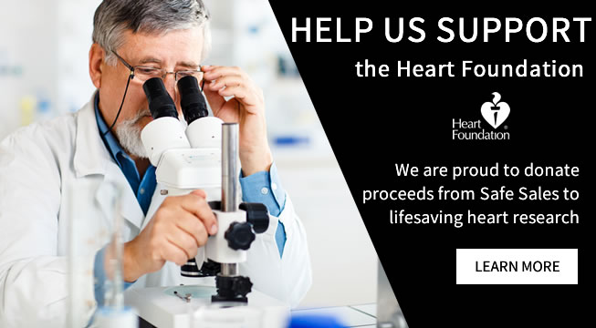 Help us support the heart foundation